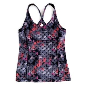 Lululemon Women's Patterned Tank Top Fitted 10
